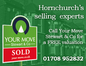 Get brand editions for YOUR MOVE Stewart & Co, Hornchurch