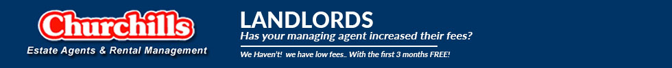 Get brand editions for Churchills Estate Agents, Rentals