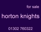 Horton Knights, Doncaster logo