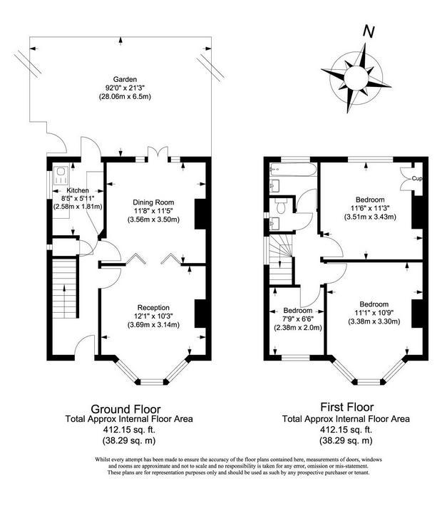 Semi Detached Floor Plans: 3 Bedroom Semi-detached House For Sale In Victoria Avenue