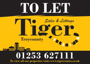 Tiger Sales & Lettings, Blackpool, Whitegate Drivebranch details