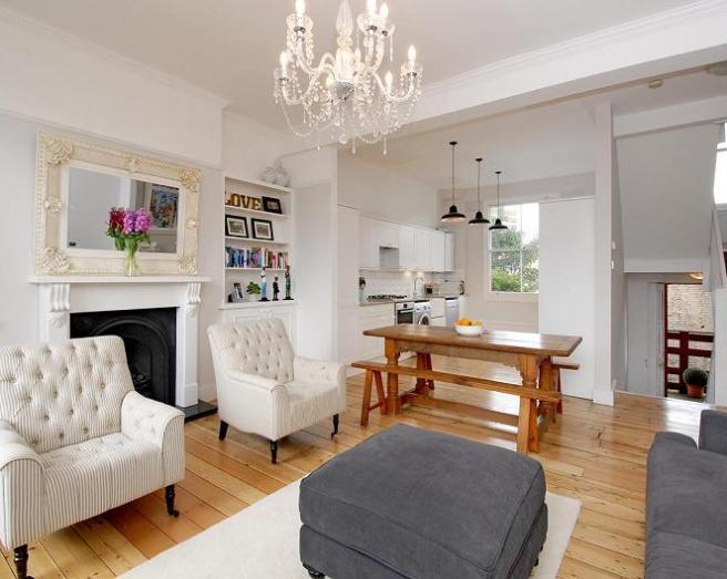 Open plan living room design ideas photos inspiration - Living room layout planner ...
