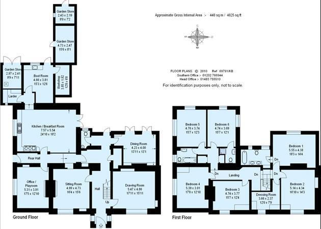 6 Bedroom House For Sale In Woolland, Blandford Forum