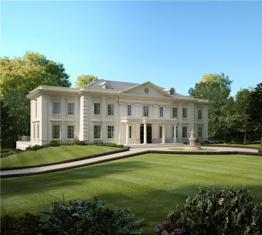 Luxury Homes On The Water: Plot For Sale In Pipers End, Virginia Water, Surrey, GU25