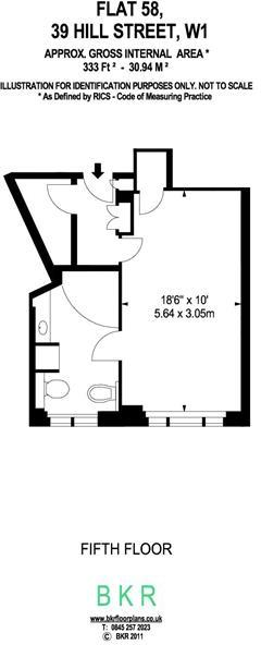 333 sq ft