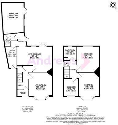 Eden Villas floorplan