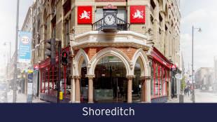 Stirling Ackroyd, Shoreditchbranch details