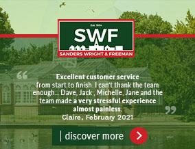 Get brand editions for Sanders, Wright & Freeman, Wolverhampton