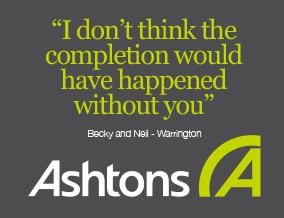 Get brand editions for Ashtons Estate Agency, Warrington