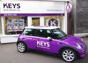 Keys Residential, New Maldenbranch details