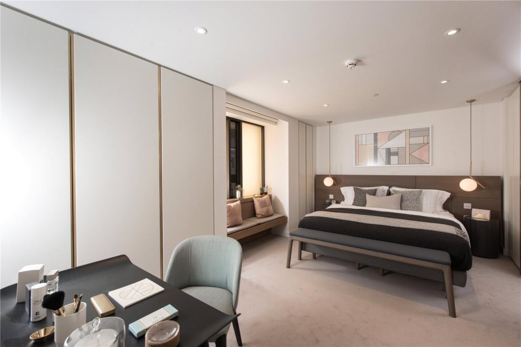 Blake Tower,Conran and Partners,Master Bedroom