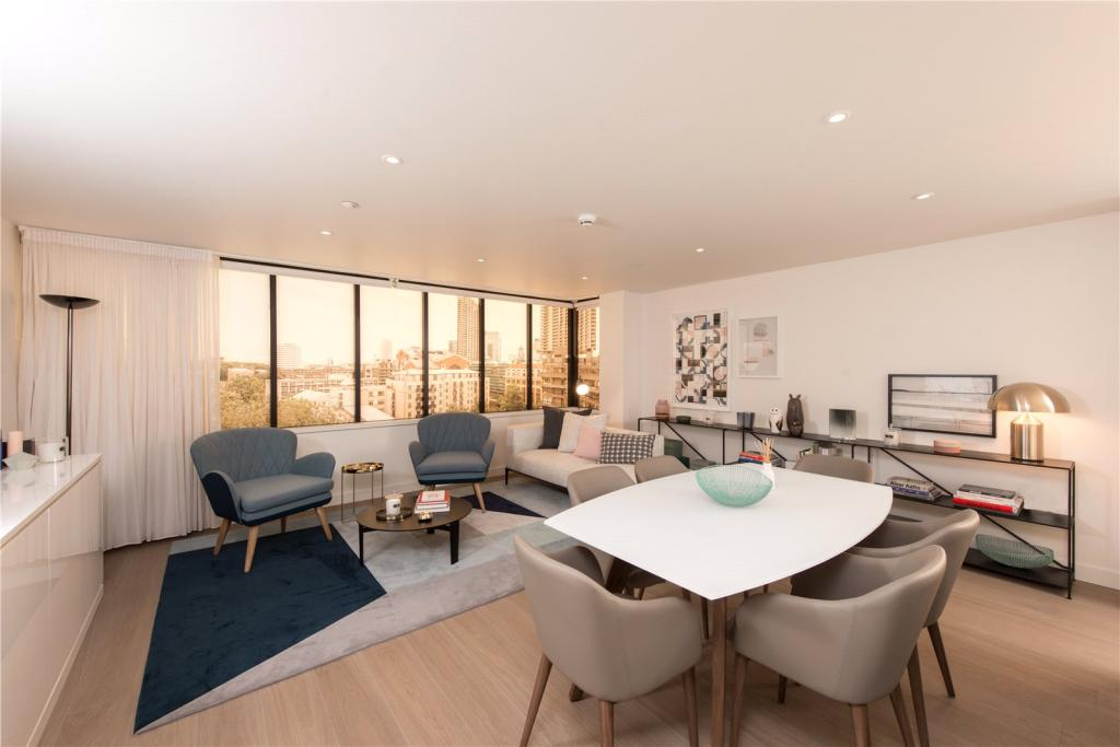 Blake Tower,Conran and Partners,Family room