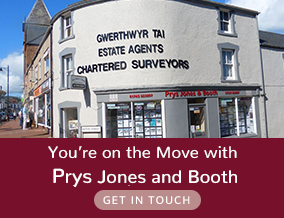 Get brand editions for Prys Jones & Booth, Abergele