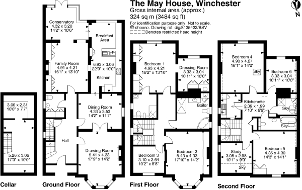 The Winchester House Floor Plan Home Design And Style
