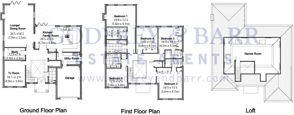 5 Bedroom Detached House For Sale In Fallowfield Stanmore