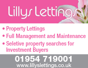Lillys lettings, Great Cambourne - Lettingsbranch details