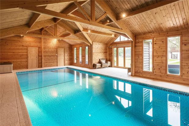 7 bedroom detached house for sale in tandridge lane - Oxted swimming pool opening hours ...