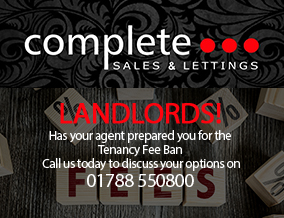 Get brand editions for Complete Estate Agents, Rugby - Lettings