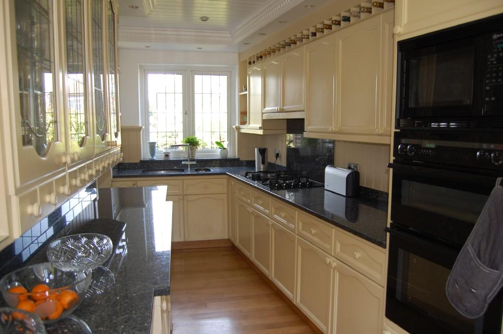 cream galley kitchens galley kitchen design ideas photos amp inspiration 210