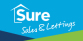Sure Sales & Lettings, Cheltenham logo