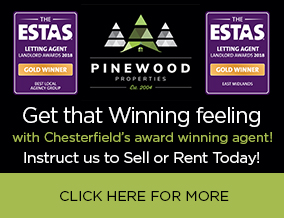 Get brand editions for Pinewood Properties, Chesterfield