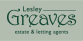 Lesley Greaves Estate Agents, Burton Joyce logo