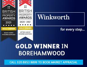 Get brand editions for Winkworth, Elstree & Borehamwood
