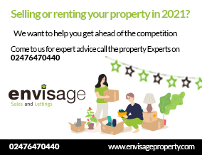 Get brand editions for Envisage Sales & Lettings, Coventry