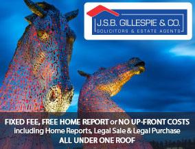 Get brand editions for JSB Gillespie & Co, Solicitors & Estate Agents, Larbert