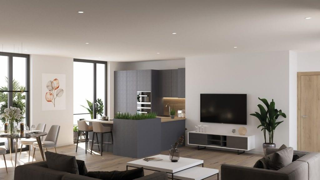 2 Bedroom Apartment For Sale In Plot 25 City Garden Apartments St George S Road Glasgow G3 6lb G3