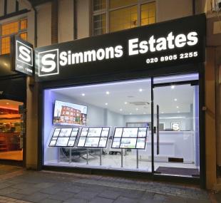 Simmons Estates, Borehamwoodbranch details