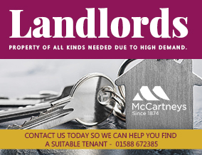 Get brand editions for McCartneys LLP, Craven Arms