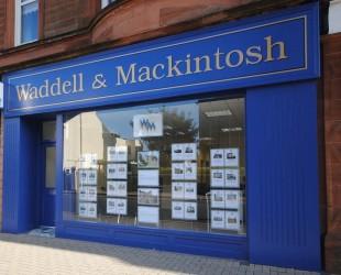 Waddell & Mackintosh, Troonbranch details