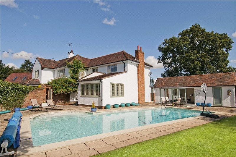 5 bedroom detached house for sale in wood end green - Swimming pools in bishops stortford ...