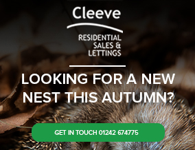 Get brand editions for Cleeve Residential Sales and Lettings, Cheltenham