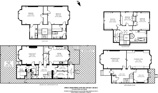 5 Bedroom Detached House For Sale In Marlborough Road
