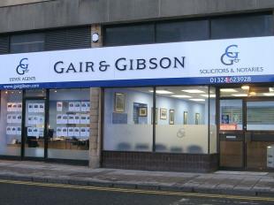Gair & Gibson, Falkirkbranch details