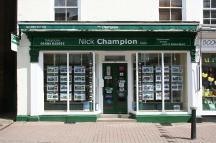 Nick Champion, Tenbury Wellsbranch details