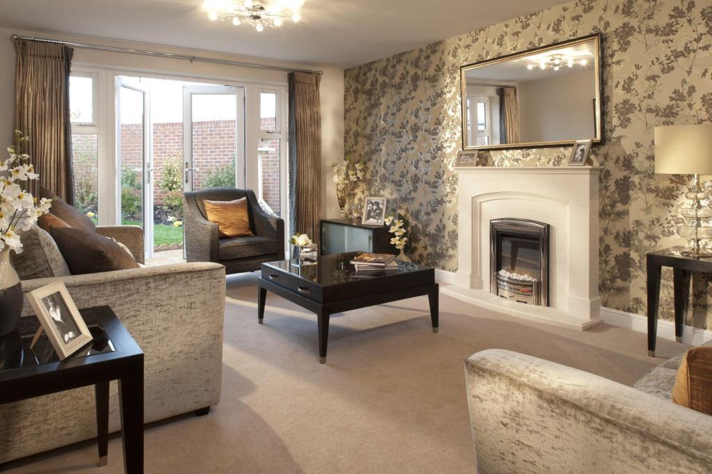 burberry wallpaper living room - photo #26
