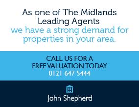 Get brand editions for John Shepherd, Cannock - Lettings