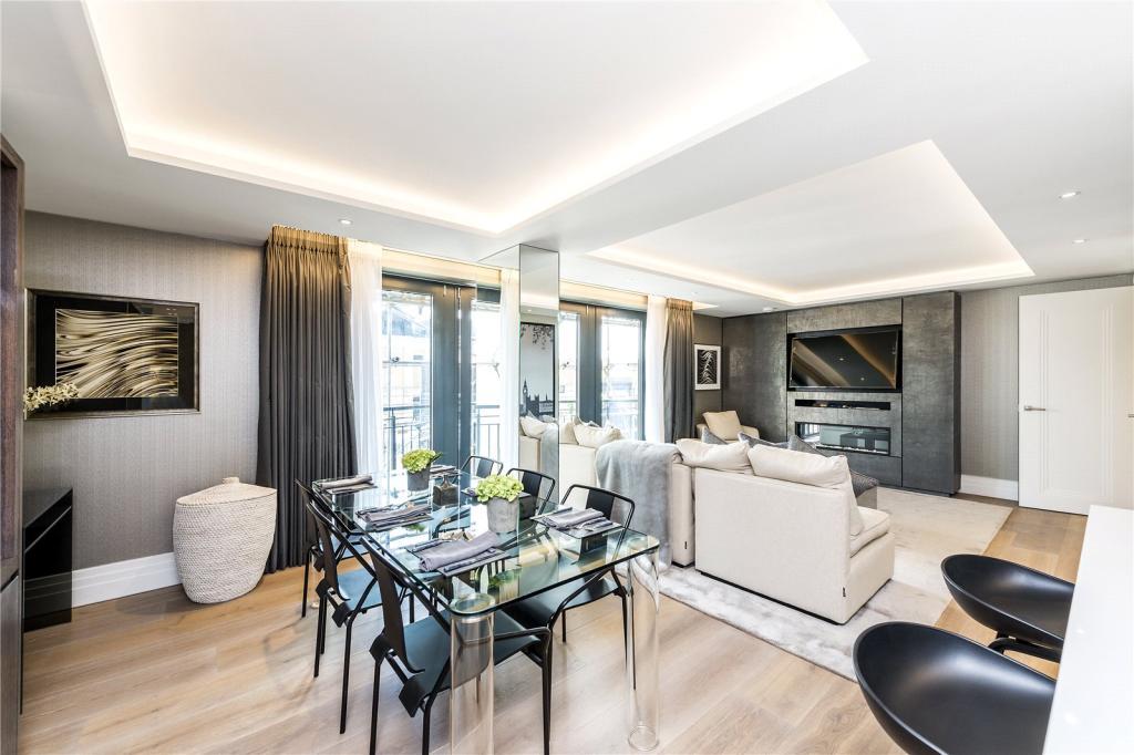 50 Kensington Gardens Square,Dining room