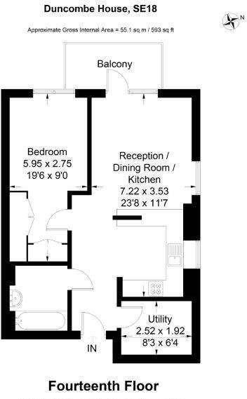 Floorplan  (Not Exact Photo)