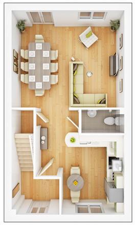 Danbury - Ground Floor Plan
