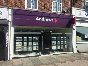 Andrews Estate Agents, Kingsburybranch details