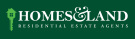 Homes & Land, Gorleston logo