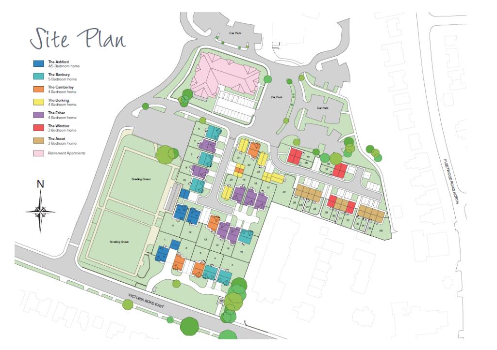 Ashdell gardens new homes development by melrose for Koi pool thornton cleveleys