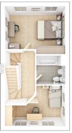 Harvington first floor plan
