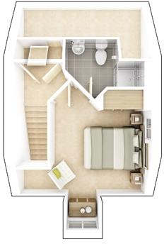 Harvington second floor plan