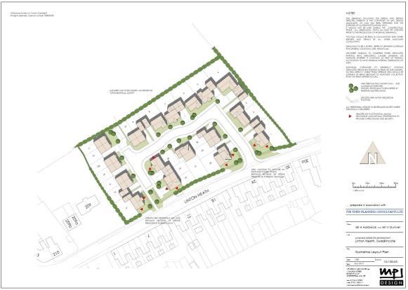 Plot For Sale In Linton, Swadlincote, Derbyshire, DE12