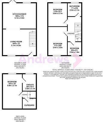 19 Highfield Gardens floorplan